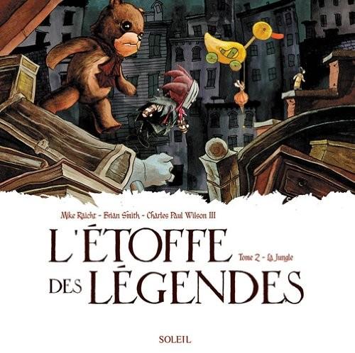 Couverture de L'Étoffe des légendes -2- La jungle