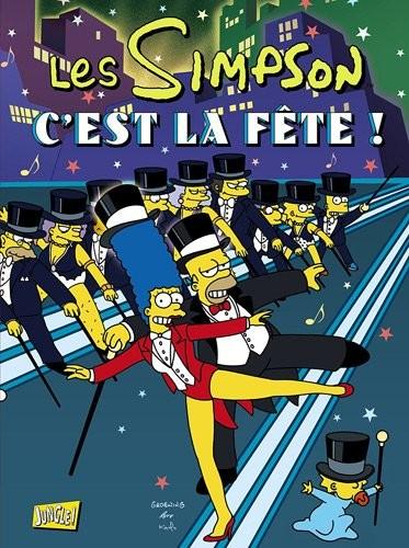 Couverture de Les simpson (Jungle !) -HS3- C'est la fête