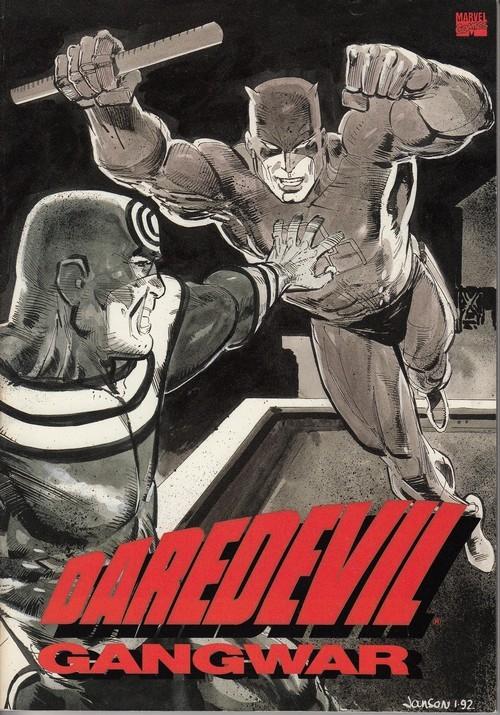 Couverture de Daredevil (1964) -INT- Gangwar