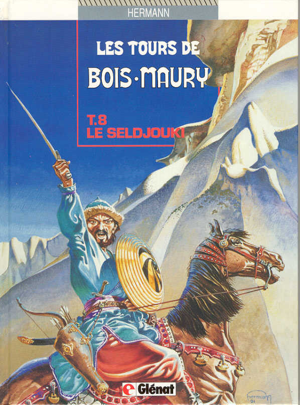Couverture de Les tours de Bois-Maury -8- Le seldjouki