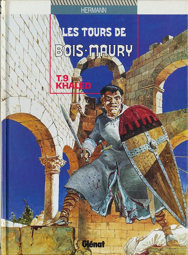 Couverture de Les tours de Bois-Maury -9- Khaled