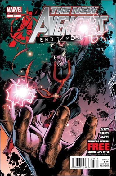 Couverture de New Avengers (The) (2010) -31- End times part 1