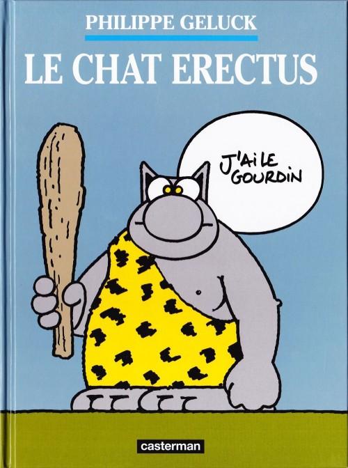 Couverture de Le chat -17- Le Chat Erectus