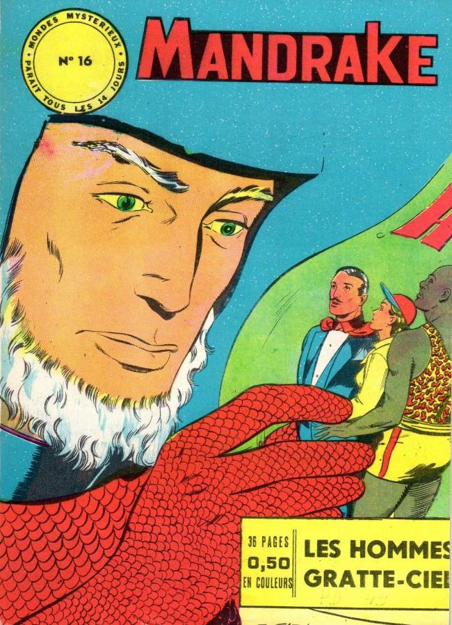 Couverture de Mandrake (1re Série - Remparts) (Mondes Mystérieux - 1) -16- Les hommes gratte-ciel