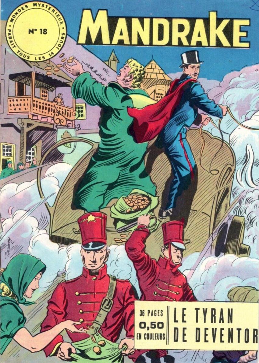 Couverture de Mandrake (1re Série - Remparts) (Mondes Mystérieux - 1) -18- Le tyran de Deventor