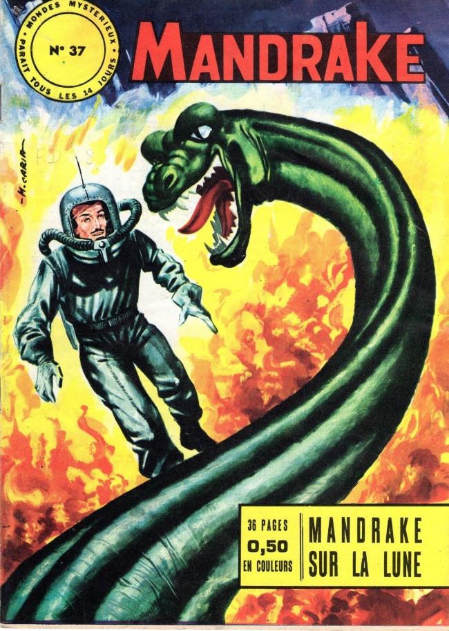Couverture de Mandrake (1re Série - Remparts) (Mondes Mystérieux - 1) -37- Mandrake sur la lune