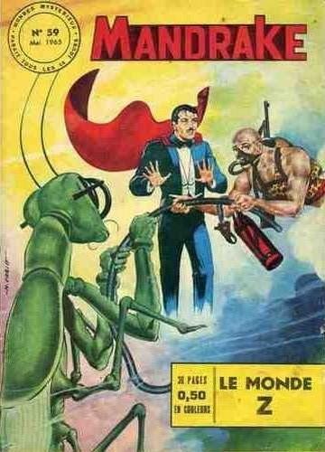 Couverture de Mandrake (1e Série - Remparts) (Mondes Mystérieux - 1) -59- Le monde Z