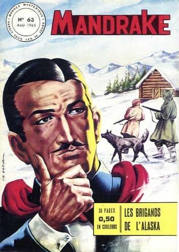 Couverture de Mandrake (1re Série - Remparts) (Mondes Mystérieux - 1) -63- Les brigands de l'Alaska