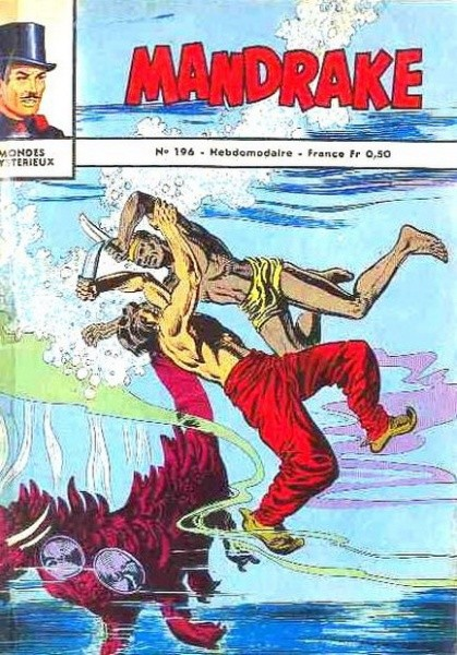 Couverture de Mandrake (1re Série - Remparts) (Mondes Mystérieux - 1) -196- Voyage mysterieux