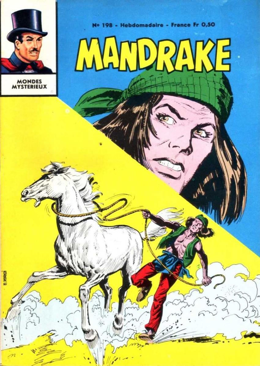 Couverture de Mandrake (1e Série - Remparts) (Mondes Mystérieux - 1) -198- La main blanche