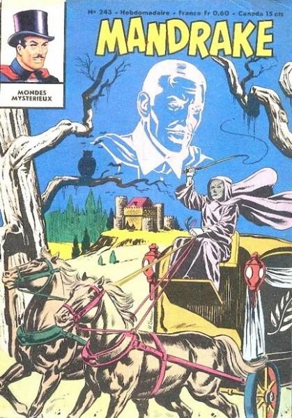 Couverture de Mandrake (1re Série - Remparts) (Mondes Mystérieux - 1) -243- Le roi des tenèbres