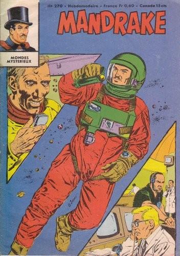 Couverture de Mandrake (1re Série - Remparts) (Mondes Mystérieux - 1) -270- La voix de l'espace