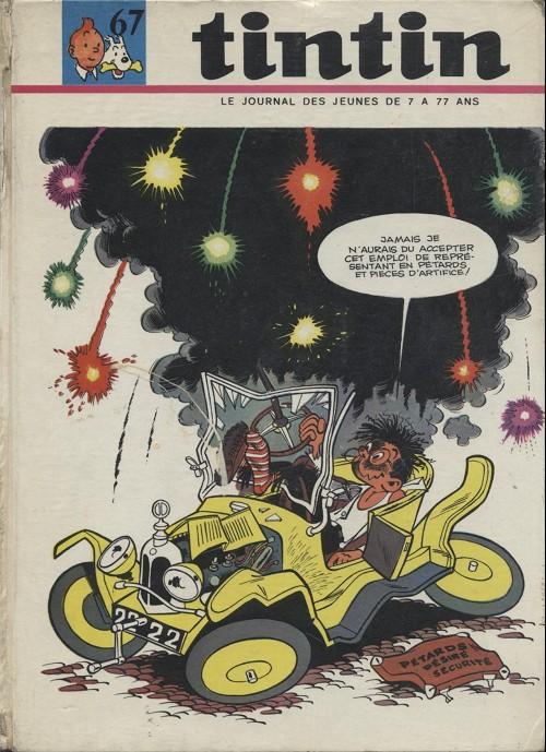 Couverture de (Recueil) Tintin (Album du journal - Édition française) -67- Tintin album du journal (n°888 à 900)