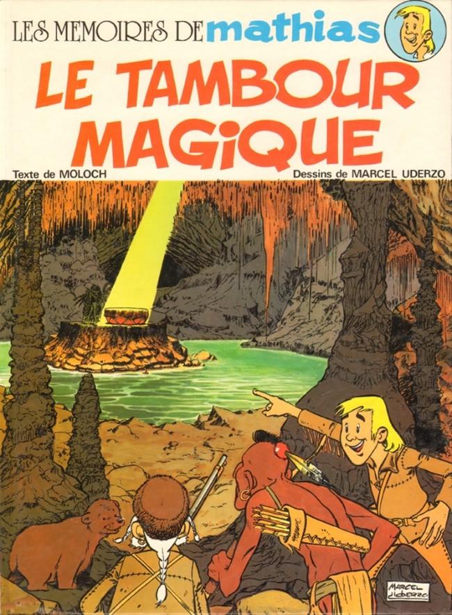 Couverture de Les mémoires de Mathias -1- Le Tambour magique