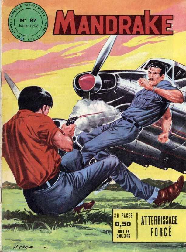 Couverture de Mandrake (1e Série - Remparts) (Mondes Mystérieux - 1) -87- Atterrissage forcé