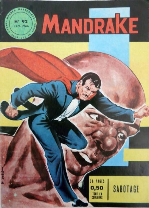 Couverture de Mandrake (1re Série - Remparts) (Mondes Mystérieux - 1) -92- Sabotage