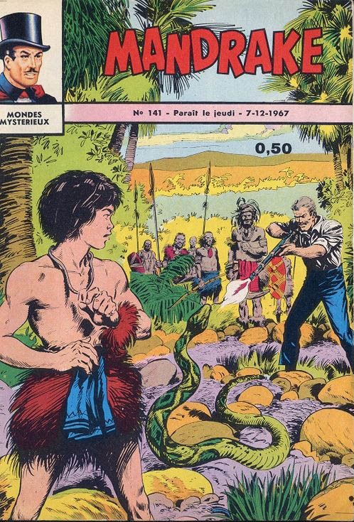 Couverture de Mandrake (1re Série - Remparts) (Mondes Mystérieux - 1) -141- Le docteur cyclone