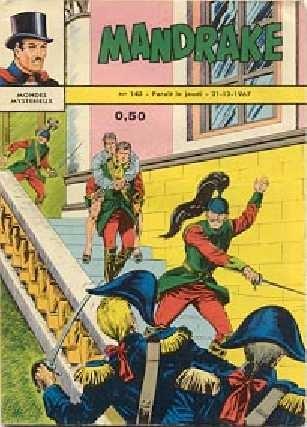 Couverture de Mandrake (1re Série - Remparts) (Mondes Mystérieux - 1) -143- Echec au pirate