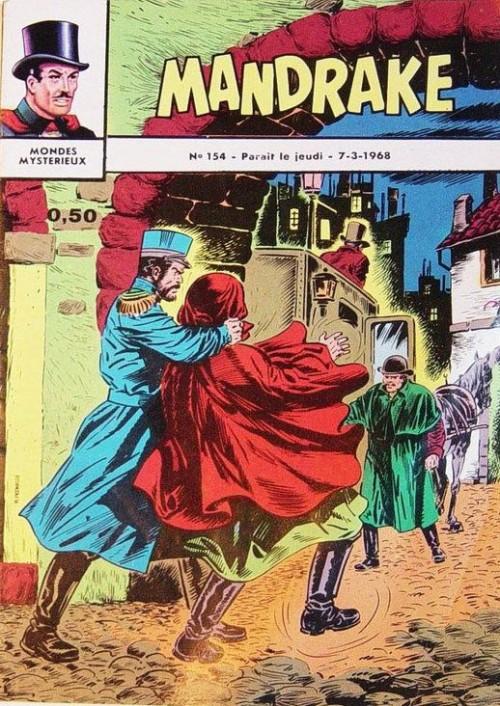 Couverture de Mandrake (1re Série - Remparts) (Mondes Mystérieux - 1) -154- La statuette disparue