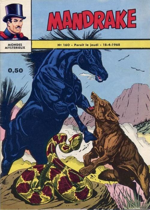 Couverture de Mandrake (1re Série - Remparts) (Mondes Mystérieux - 1) -160- Une élection extraordinaire