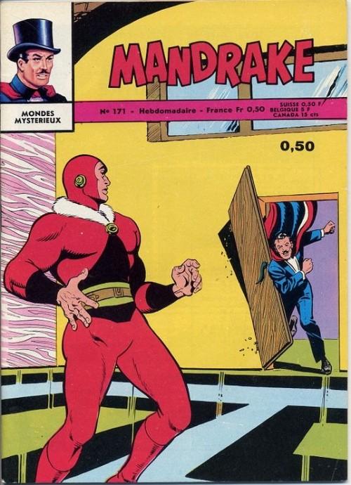 Couverture de Mandrake (1re Série - Remparts) (Mondes Mystérieux - 1) -171- L'étau de glace