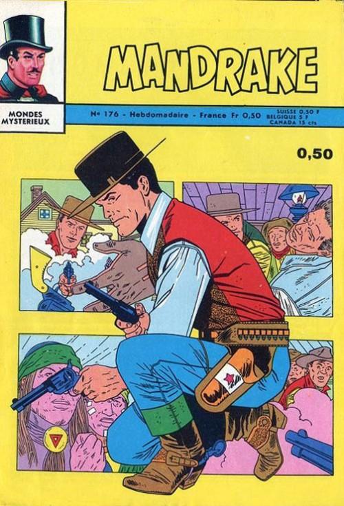 Couverture de Mandrake (1re Série - Remparts) (Mondes Mystérieux - 1) -176- L'Homme ourang outang