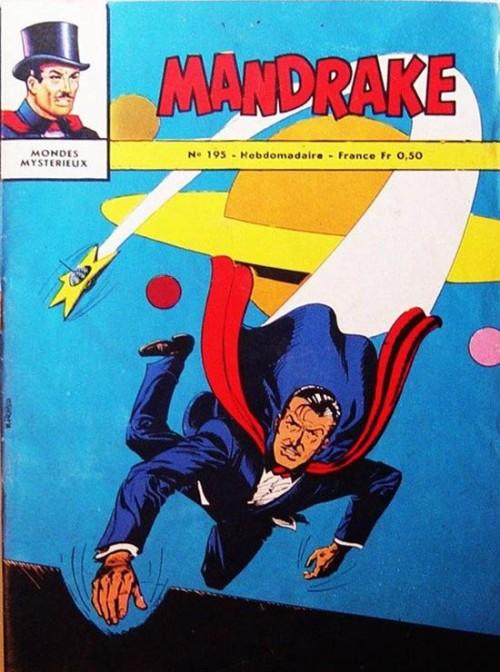 Couverture de Mandrake (1e Série - Remparts) (Mondes Mystérieux - 1) -195- Mandrake et les êtres mystérieux