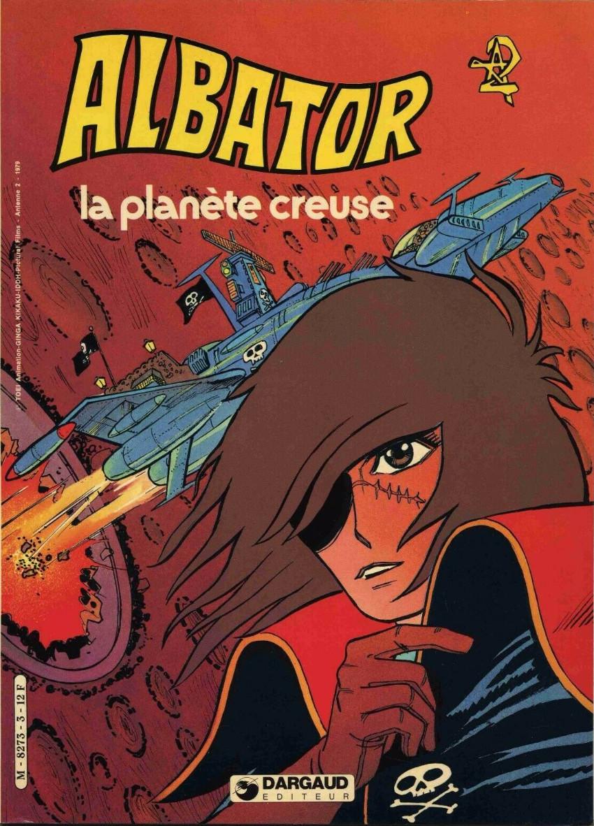 Couverture de Albator -3- La planète creuse