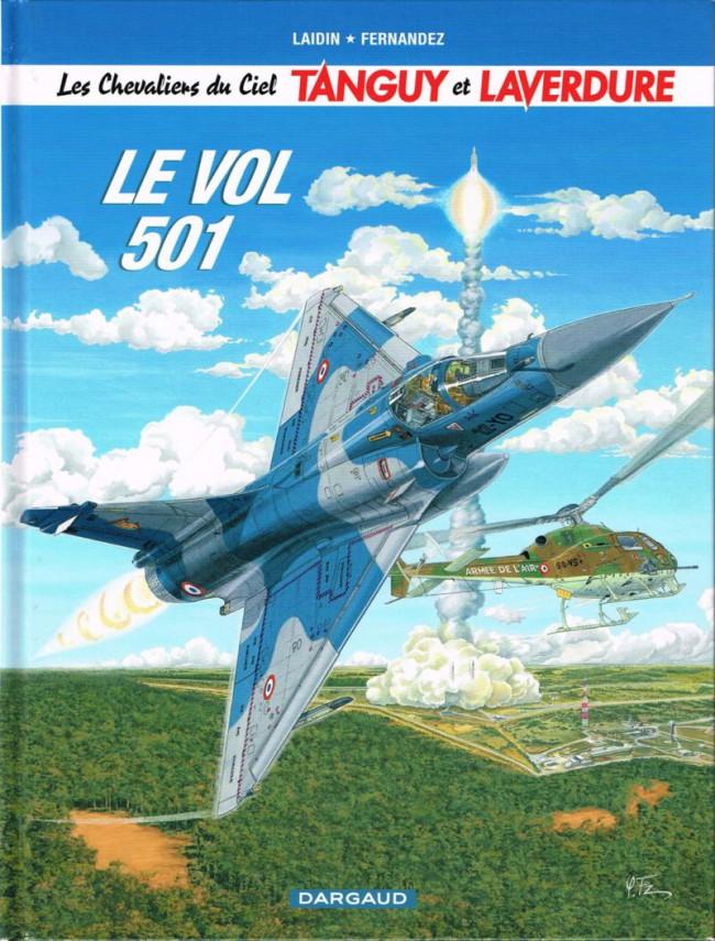 Couverture de Tanguy et Laverdure -28- Le vol 501