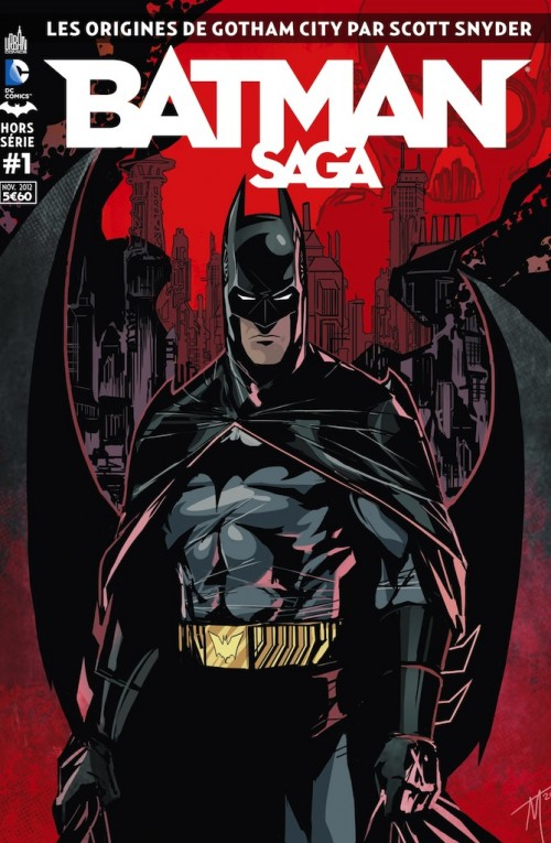 Couverture de Batman Saga -HS01- Les origines de Gotham City par Scott Snyder
