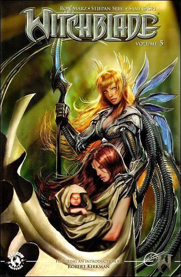 Couverture de Witchblade (1995) -INT05- Conception & First Born