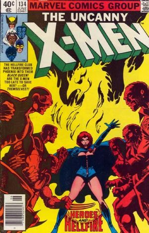 Couverture de Uncanny X-Men (The) (1963) -134- Too late, the heroes