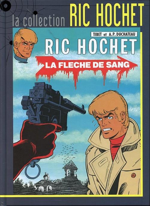 Couverture de Ric Hochet - La collection (Hachette) -36- La flèche de sang
