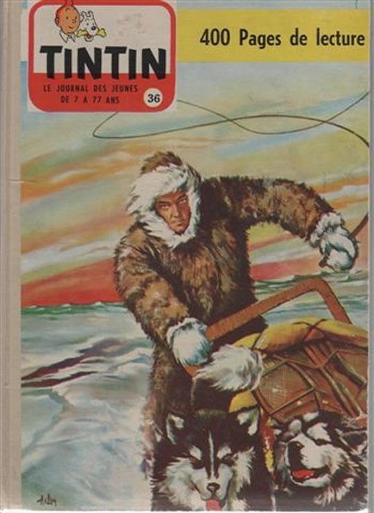 Couverture de (Recueil) Tintin (Album du journal - Édition française) -36- Tome 36