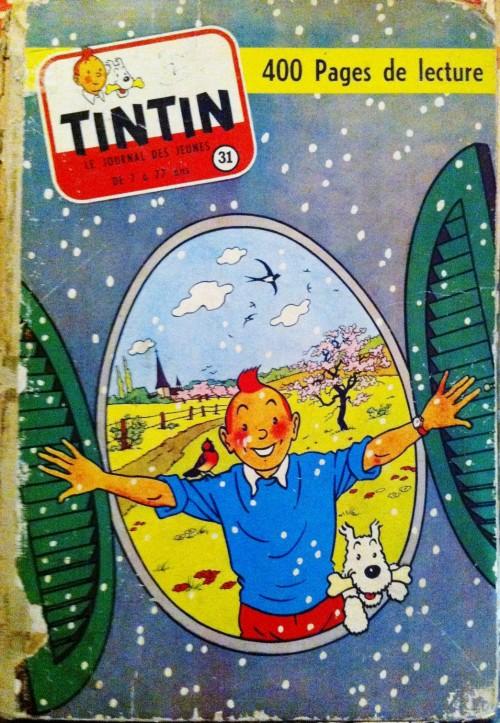 Couverture de (Recueil) Tintin (Album du journal - Édition française) -31- Tome 31