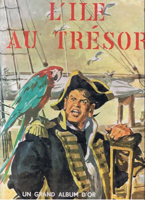 Couverture de L'Île au trésor (Tabet) - L'île au trésor