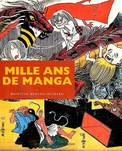 Couverture de (DOC) Études et essais divers - Mille ans de manga