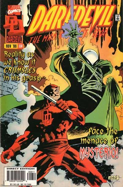 Couverture de Daredevil (1964) -358- Aftermath