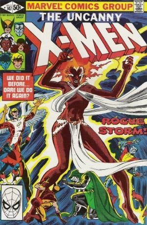 Couverture de Uncanny X-Men (The) (1963) -147- Rogue storm