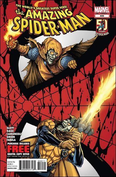 Couverture de Amazing Spider-Man (The) Vol.2 (Marvel comics - 1999) -696- Danger zone part 2: key to the kingdom