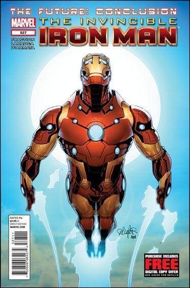 Couverture de Invincible Iron Man (2008) -527- The future finale: the stars my destination