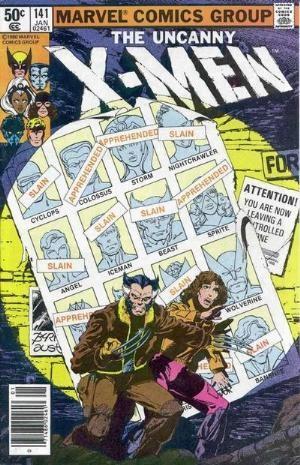 Couverture de Uncanny X-Men (The) (Marvel comics - 1963) -141- Days of Future Past