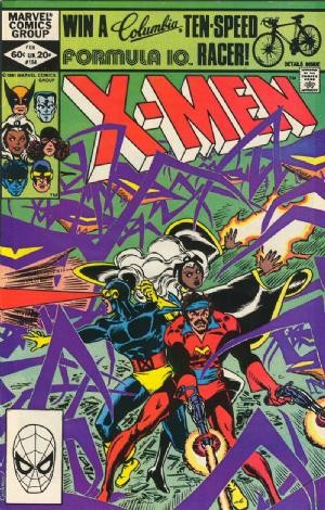 Couverture de Uncanny X-Men (The) (1963) -154- Reunion