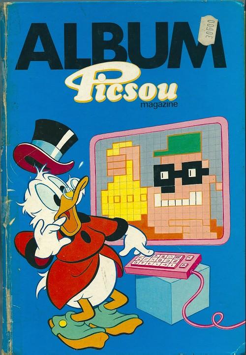 Couverture de Picsou Magazine -Rec S- (1re série) recueil S (n° 164 à n° 167
