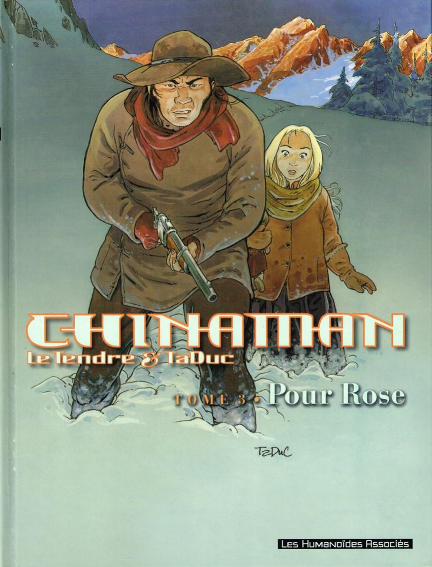Couverture de Chinaman -3- Pour Rose