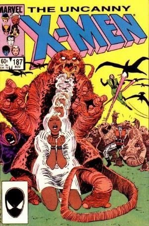 Couverture de Uncanny X-Men (The) (Marvel comics - 1963) -187- Wraithkill