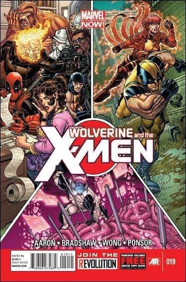 Couverture de Wolverine and the X-Men Vol.1 (Marvel comics - 2011) -19- More pencils, more books, more teachers dirty looks