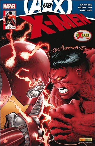 Couverture de X-Men (Marvel France 3e série - 2012) -5- Bombe à retardement
