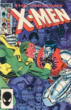 Couverture de Uncanny X-Men (The) (1963) -191- Raiders of the lost temple