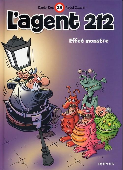 Couverture de L'agent 212 -28- Effet monstre